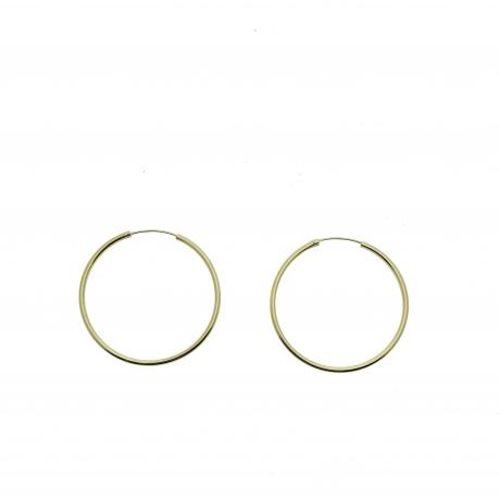 Criollas plata dorada 50mm