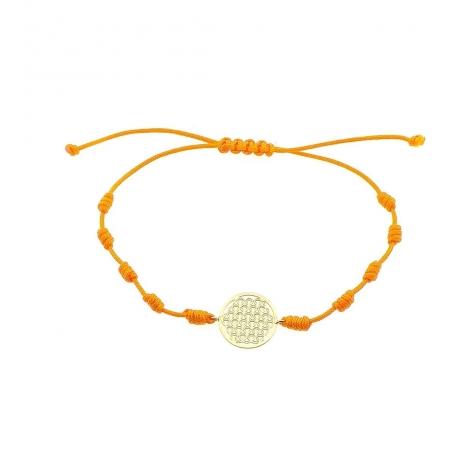 Pulsera Mandala oro amarillo