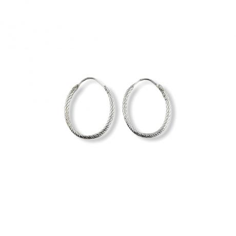Criollas oval plata